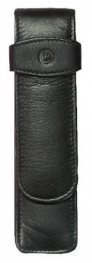 Футляр Pelikan TG21 (PL923417) для 2х ручек черный натур.кожа