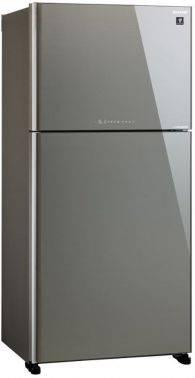 Холодильник Sharp SJ-XG60PGSL серебристое стекло