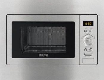 Встраиваемая микроволновая печь Zanussi ZSC25259XA нержавеющая сталь