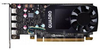 Видеокарта Dell Quadro 2048 МБ (490-BDTF)