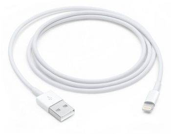 Кабель Apple MQUE2ZM/A Lightning (m)-USB A(m) 1м