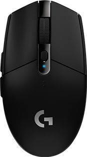 Мышь Logitech G305 Lightspeed черный (910-005282)
