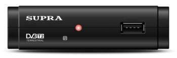 Ресивер DVB-T2 Supra SDT-63 черный