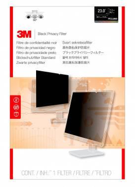 """Пленка защиты информации для ноутбука 23"""" 3M PF230W9B черный (7000021450)"""