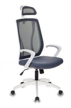 Кресло руководителя Бюрократ MC-W411-H серый/серый (MC-W411-H/DG/26-25)