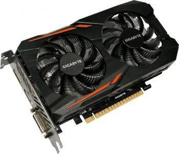 Видеокарта Gigabyte GeForce GTX 1050 OC 3GD 3072 МБ (GV-N1050OC-3GD)