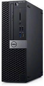 Компьютер Dell Optiplex 7060 черный/серебристый (7060-7717)