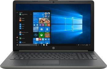 "Ноутбук 15.6"" HP 15-db0088ur серый (4JU60EA)"