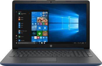 """Ноутбук 15.6"""" HP 15-db0087ur синий (4JU90EA)"""