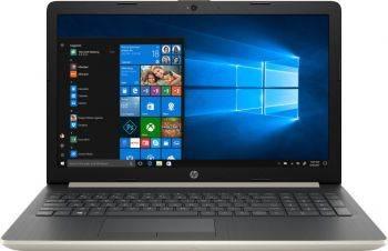 """Ноутбук 15.6"""" HP 15-da0101ur золотистый (4JW61EA)"""