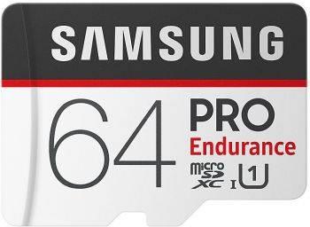 Карта памяти microSDXC 64Gb Class10 Samsung PRO Endurance (MB-MJ64GA/RU)