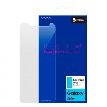 Защитное стекло Samsung Whitestone Dome для Samsung Galaxy A6+ 2018 (GP-A605KDEEAIA)
