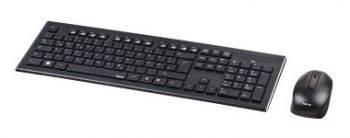 Комплект клавиатура+мышь Hama Cortino черный/черный (R1050426)