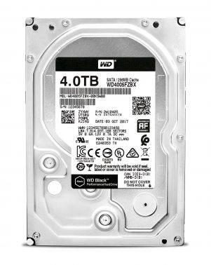 Жесткий диск 4Tb WD Black WD4005FZBX SATA-III