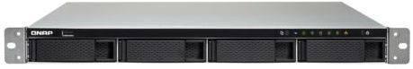 Сетевое хранилище NAS Qnap TS-453BU-4G черный - фото 1
