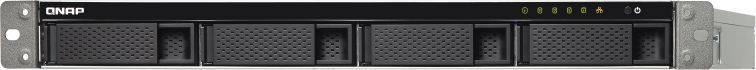 Сетевое хранилище NAS Qnap TS-453BU-4G черный - фото 2