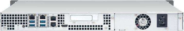 Сетевое хранилище NAS Qnap TS-453BU-4G черный - фото 3