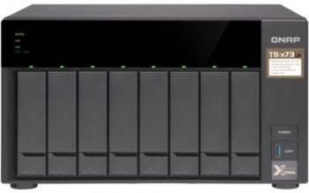 Сетевое хранилище NAS Qnap TS-873-4G черный