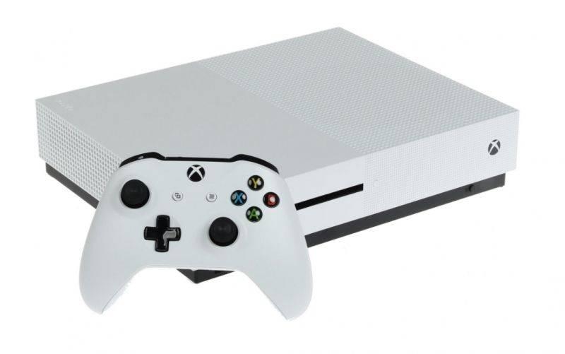 Игровая консоль Microsoft Xbox One S 234-00334 белый - фото 1