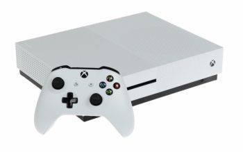 Игровая консоль Microsoft Xbox One S 234-00334 белый