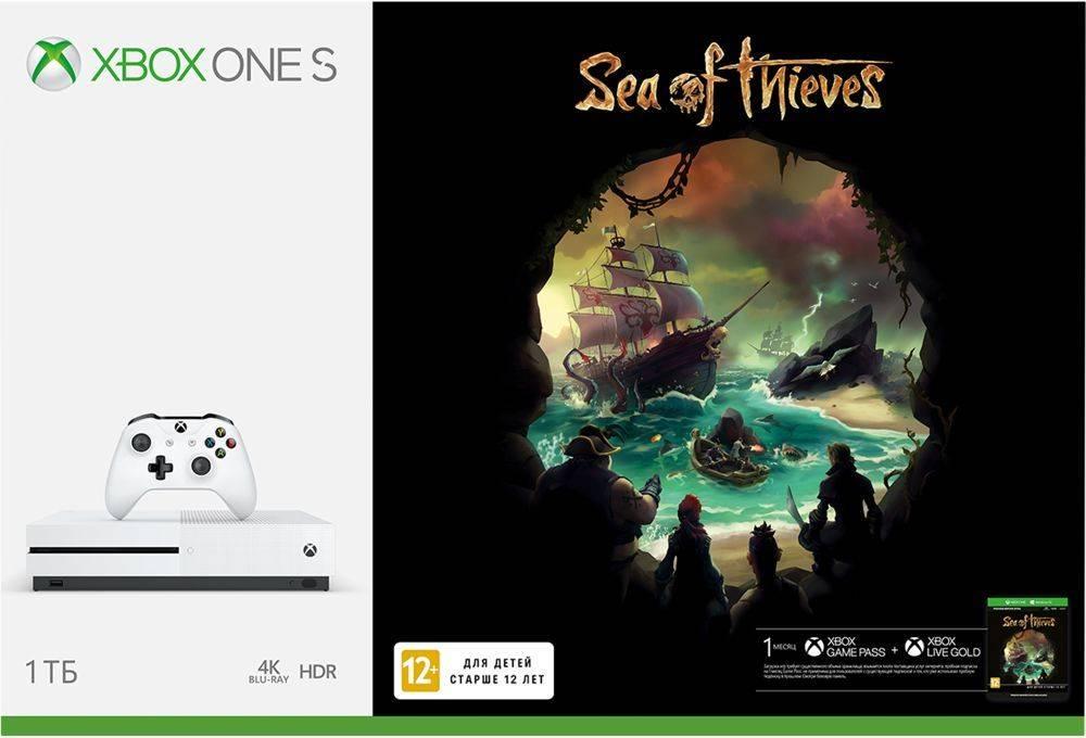 Игровая консоль Microsoft Xbox One S 234-00334 белый - фото 2