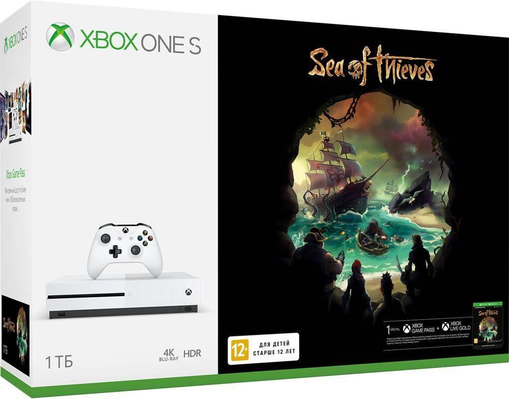 Игровая консоль Microsoft Xbox One S 234-00334 белый - фото 3