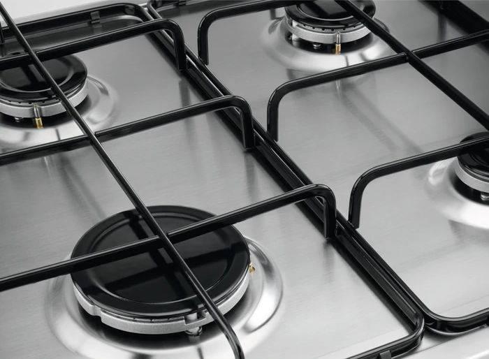 Газовая варочная поверхность Zanussi GPZ262HB нержавеющая сталь - фото 8