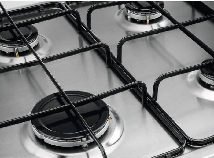 Газовая варочная поверхность Zanussi GPZ262HX нержавеющая сталь - фото 4