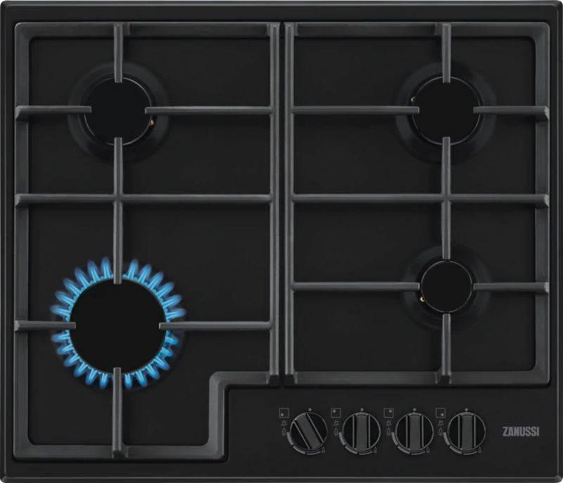 Газовая варочная поверхность Zanussi GPZ263SB черный - фото 1