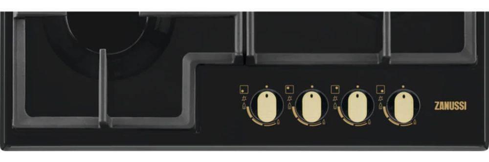 Газовая варочная поверхность Zanussi GPZ263SR черный - фото 2