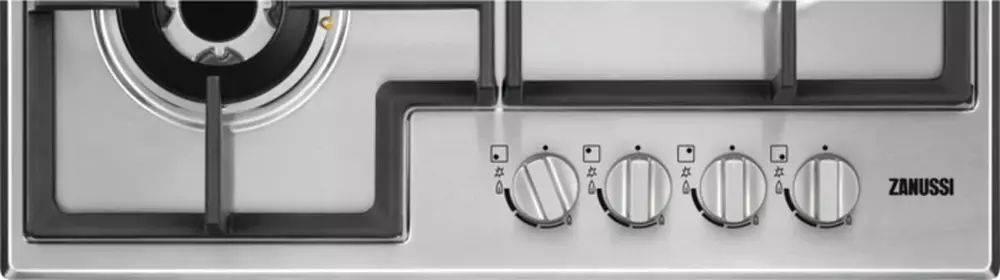 Газовая варочная поверхность Zanussi GPZ363SS серебристый - фото 3