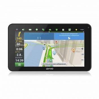 "GPS-навигатор Lexand SB7 HD 7"" черный"