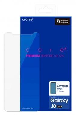 Защитное стекло Samsung Whitestone Dome для Samsung Galaxy J8 2018 (GP-J810KDEEAIA)