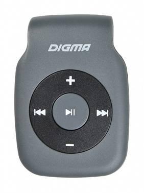 Плеер Digma P2 серый/черный