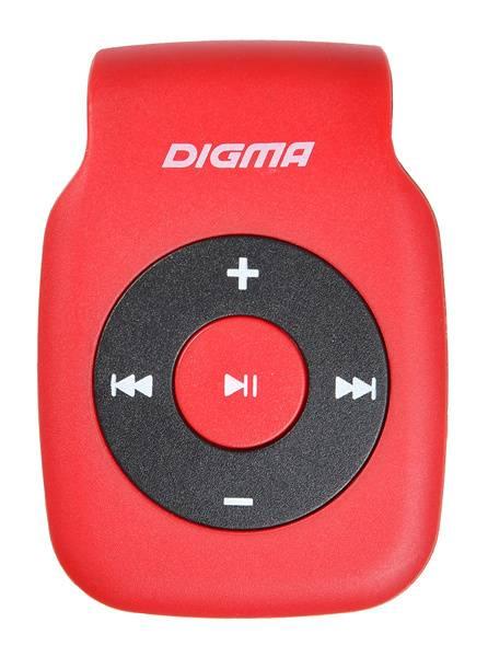 Плеер Digma P2 красный/черный - фото 1