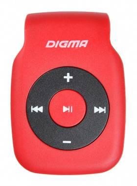Плеер Digma P2 красный/черный