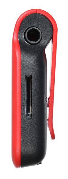 Плеер Digma P2 красный/черный - фото 4