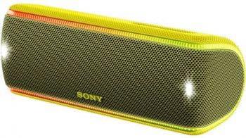 Колонка портативная Sony SRS-XB31 желтый (SRSXB31Y.RU2)