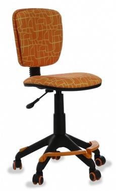 Кресло детское Бюрократ CH-204-F оранжевый (CH-204-F/GIRAFFE)