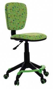 Кресло детское Бюрократ CH-204-F зеленый (CH-204-F/CACTUS-GN)