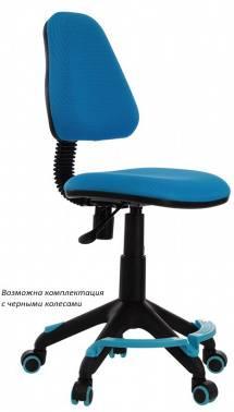 Кресло детское Бюрократ KD-4-F голубой (KD-4-F/TW-55)
