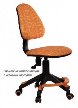 Кресло детское Бюрократ KD-4-F оранжевый (KD-4-F/GIRAFFE)