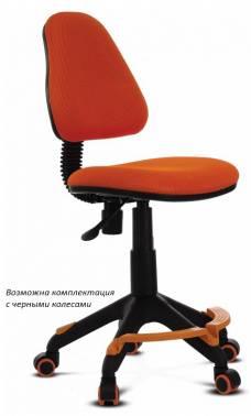 Кресло детское Бюрократ KD-4-F оранжевый (KD-4-F/TW-96-1)
