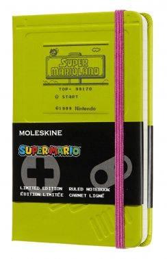 Блокнот Moleskine Limited Edition Super Mario Pocket зеленый (LESMMM710GB)