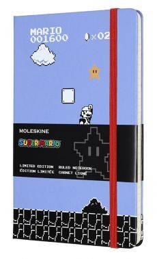 Блокнот Moleskine Limited Edition Super Mario Large сиреневый (LESMQP060GM)