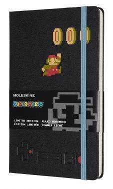 Блокнот Moleskine Limited Edition Super Mario Large черный (LESMQP060MA)