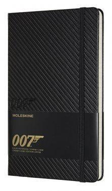 Блокнот Moleskine Limited Edition James Bond Large черный (LEJBQP060A)