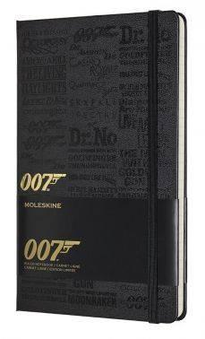 Блокнот Moleskine Limited Edition James Bond Large черный (LEJBQP060B)