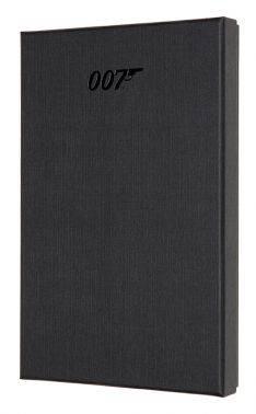 Блокнот Moleskine Limited Edition James Bond Large черный (LEJBQP060CLT)