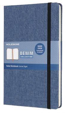 Блокнот Moleskine Limited Edition DENIM Large синий (LCDNB2QP060)
